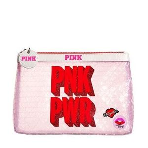PINK Victoria's Secret PINK PWR Cosmetic Bag